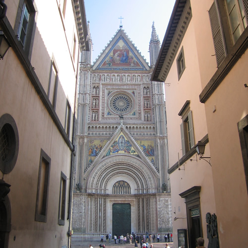 Cathedral in Orvieto, Italy