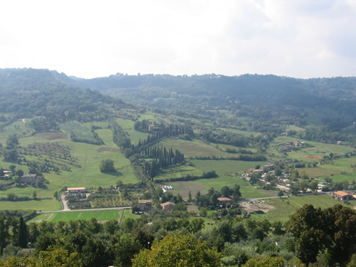 Countryside around Orvieto