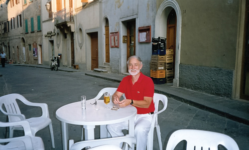 Clay Hubbs in Italy