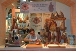 Slow Food in Italy - a culatello stand