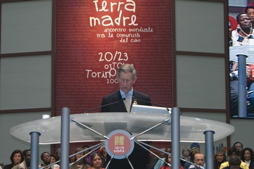 Prince Charles Speaking at Terra Madre