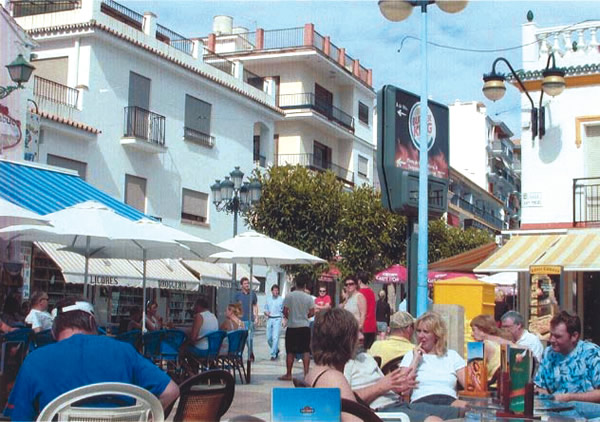 Outdoor Cafe on San Miguel