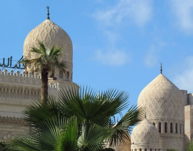 Domes in Alexandria, Egypt