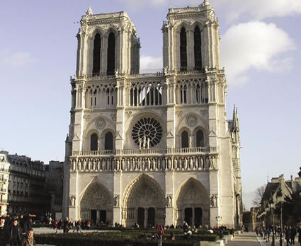 Notre Dame courtesy of Rick Steves' Europe Through the Back Door