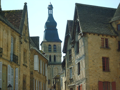 The old town of Sarlat in Dordogne