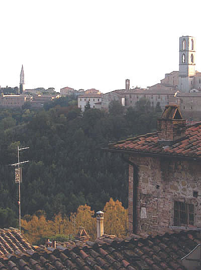 Living in Italy: A View of Perugia