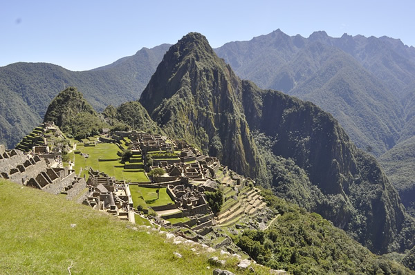 The iconic Machu Picchu, Peru requires a major hike to reach