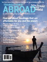 Cultural travel magazine issue