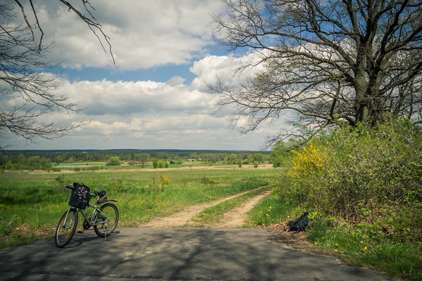 Biking in Poland is an enjoyable form of eco-friendly travel