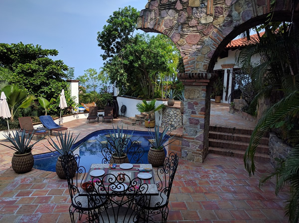 Expat's house with a pool in Puerto Vallarta, Mexico