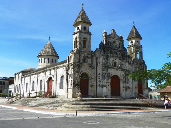A colonial church in Nicaragua