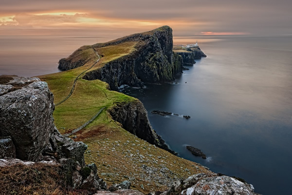 The Isle of Skye, just off of Scotland, is spectacular