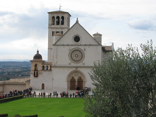 St Francis Cathedral of Assisi