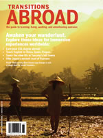 Magazine Cover Photo of Rice Fields in Laos