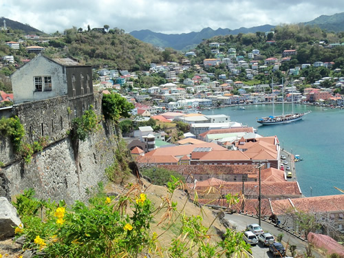 A port on the island of Dominica