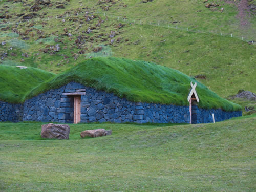 South Iceland turfhouse