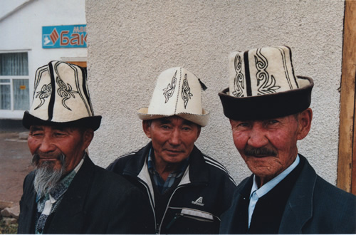 Men encountered  in travels through Kyrgyzstan