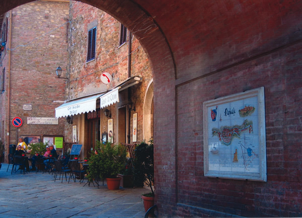 Restaurant in Panicale, Italy