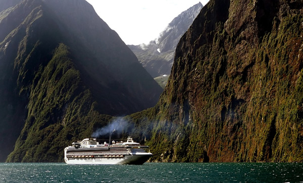 Cruise ship jobs will take you to some remote regions of the world