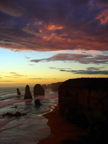 Twelve Apostles at sunset