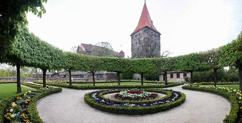 Nuremburg Castle in Bavaria