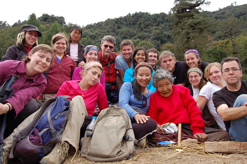 Students in Bhutan