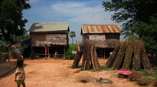 Houses in Cambodia