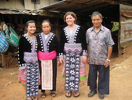 Chiang-Mai Thailand with Host Family