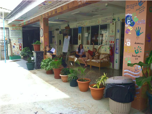 Home base for volunteers in Cartago, Costa Rica