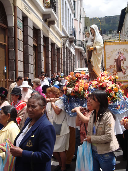 Language Learning: Street Parade in Quito