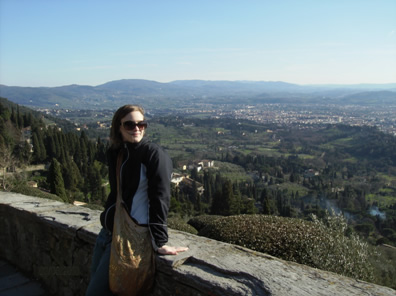 Fiesole, a small village overlooking Florence