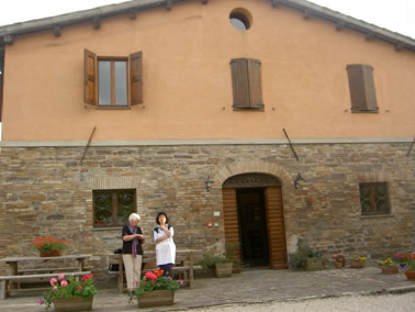 Cooking school in Urbania, Italy