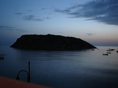 Minoan island in Greece