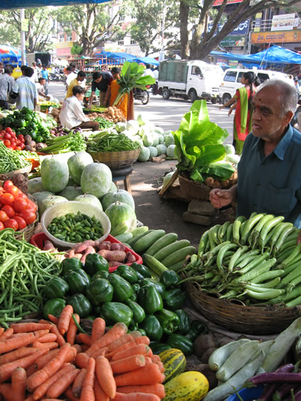Vegetable Stand in Bangalore