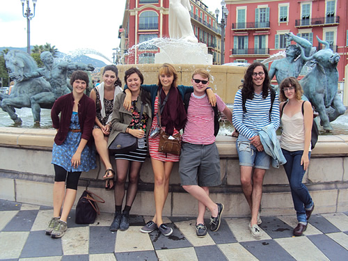 Travel with students on the Côte d'Azur, in Nice, France