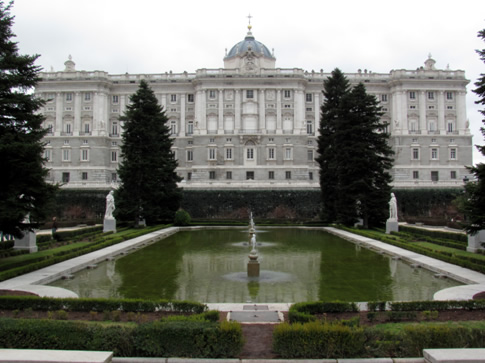 Studying in Madrid - Palacio Real in Madrid