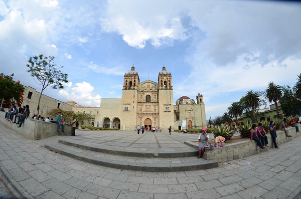Church in Oaxaca, Mexico