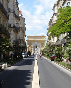Arc de Trimphe in Montpellier
