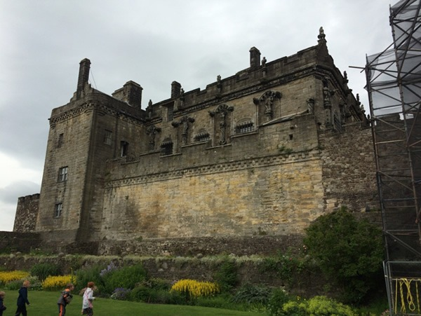A view of the ramparts at Stirling Castle