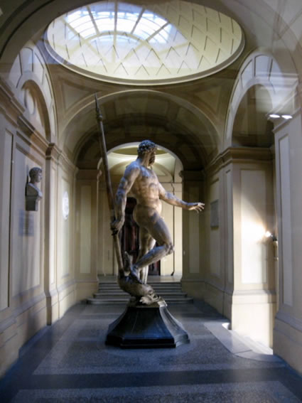 Statue of Nepture in Bologna
