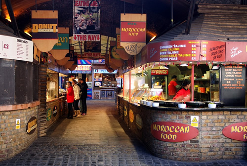 London food and eateries