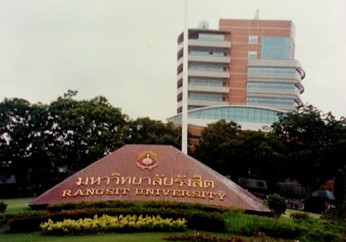 Campus of Rangsit University outside Bangkok