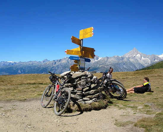 Biking is a sustainable form of tourism