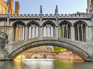 University of Oxford bridge