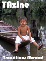 Photo of boy in South America
