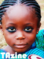 Photo of girl in Africa