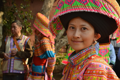 Smiling woman in Chiang Mai, Thailand